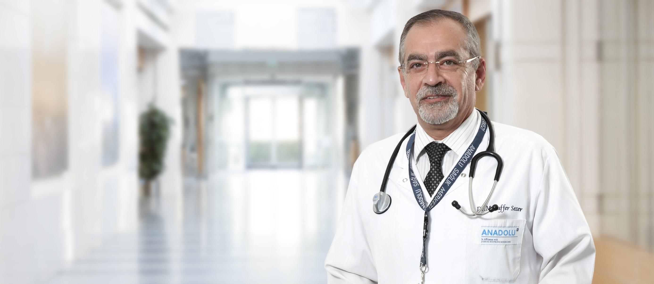 Музаффер Сезер — квалифицированная помощь в медицинском центре Anadolu