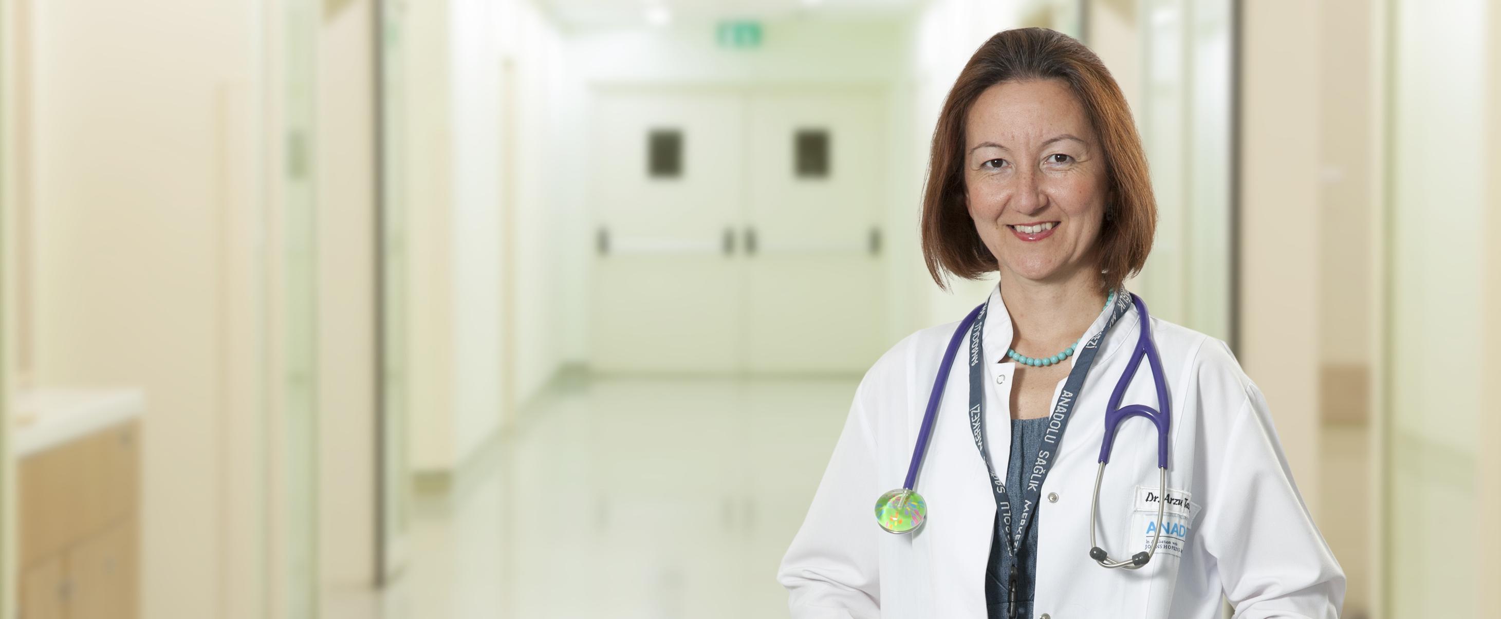 Арзу Такыль Шенгюль — квалифицированная помощь в медицинском центре Anadolu