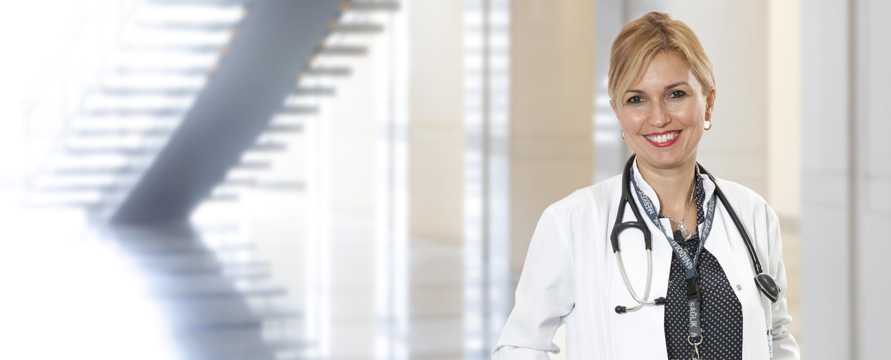 Айшегюль Карахан — квалифицированная помощь в медицинском центре Anadolu