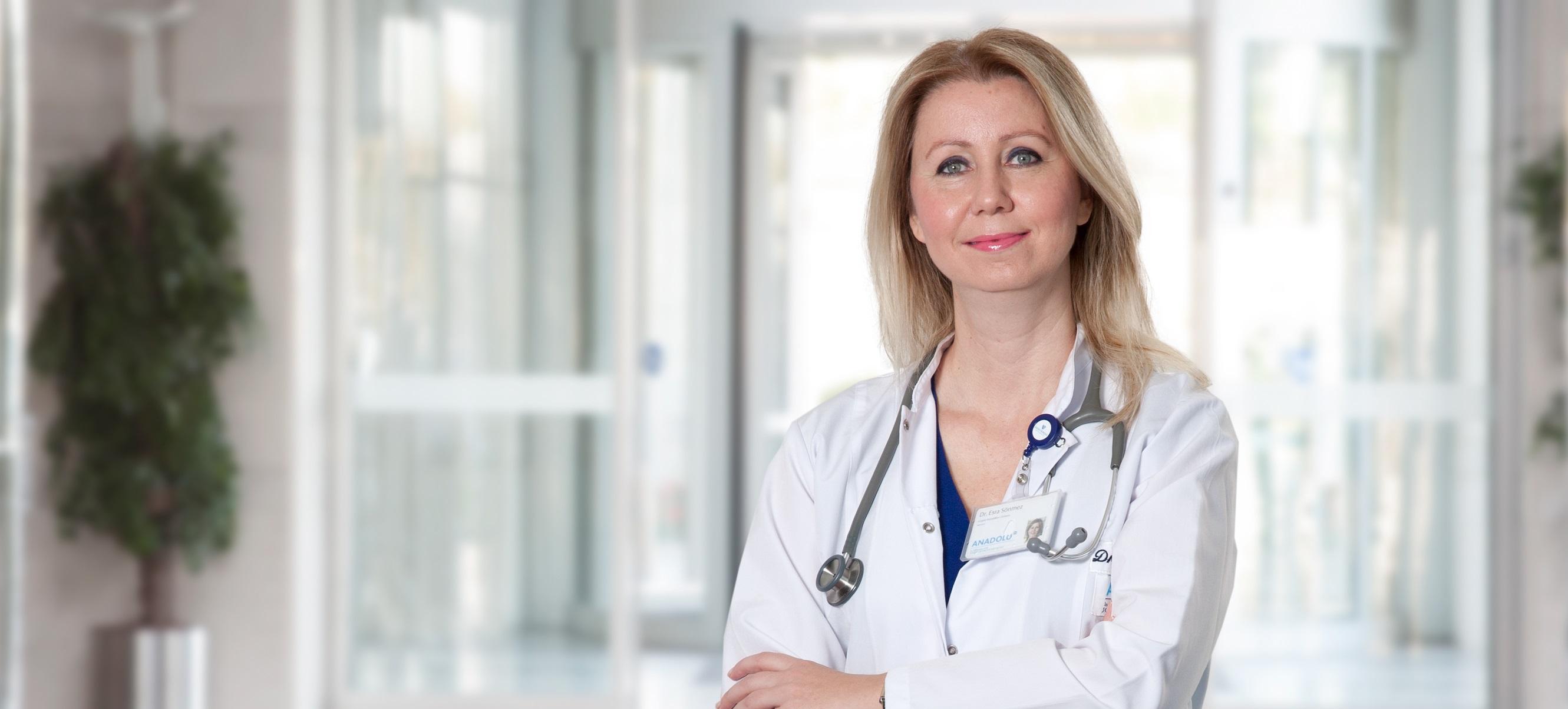 Эсра Сонмез Думан — квалифицированная помощь в медицинском центре Anadolu