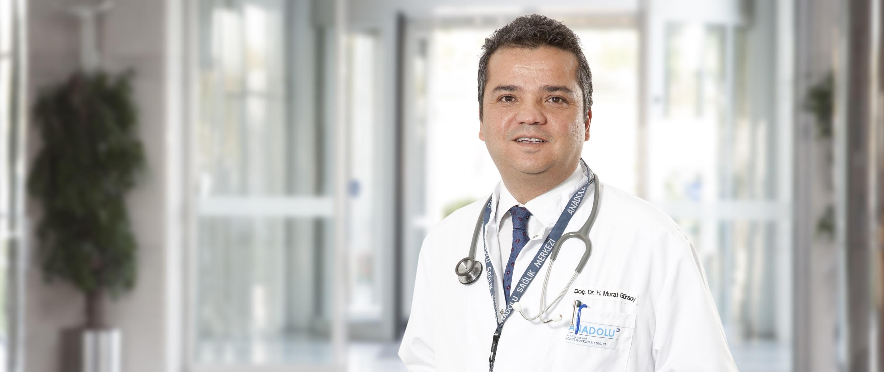 Х. Мурат Гюрсой — квалифицированная помощь в медицинском центре Anadolu