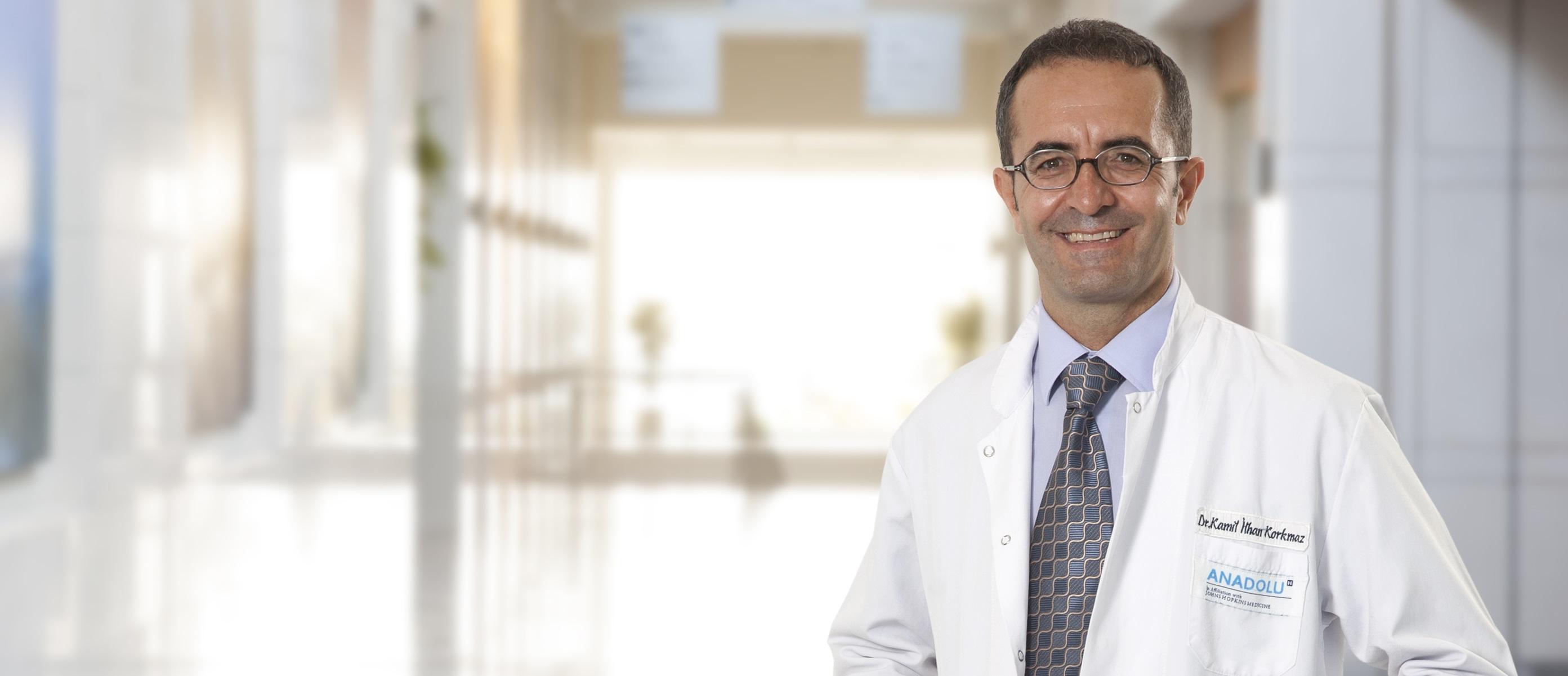 Камиль Ильхан Коркмаз — квалифицированная помощь в медицинском центре Anadolu