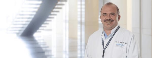 Нури Джейдели — квалифицированная помощь в медицинском центре Anadolu