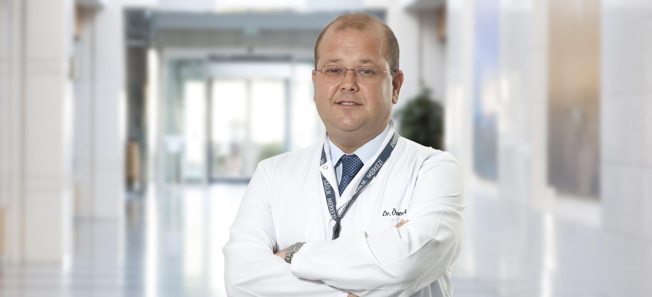 Омер Айдынер — квалифицированная помощь в медицинском центре Anadolu