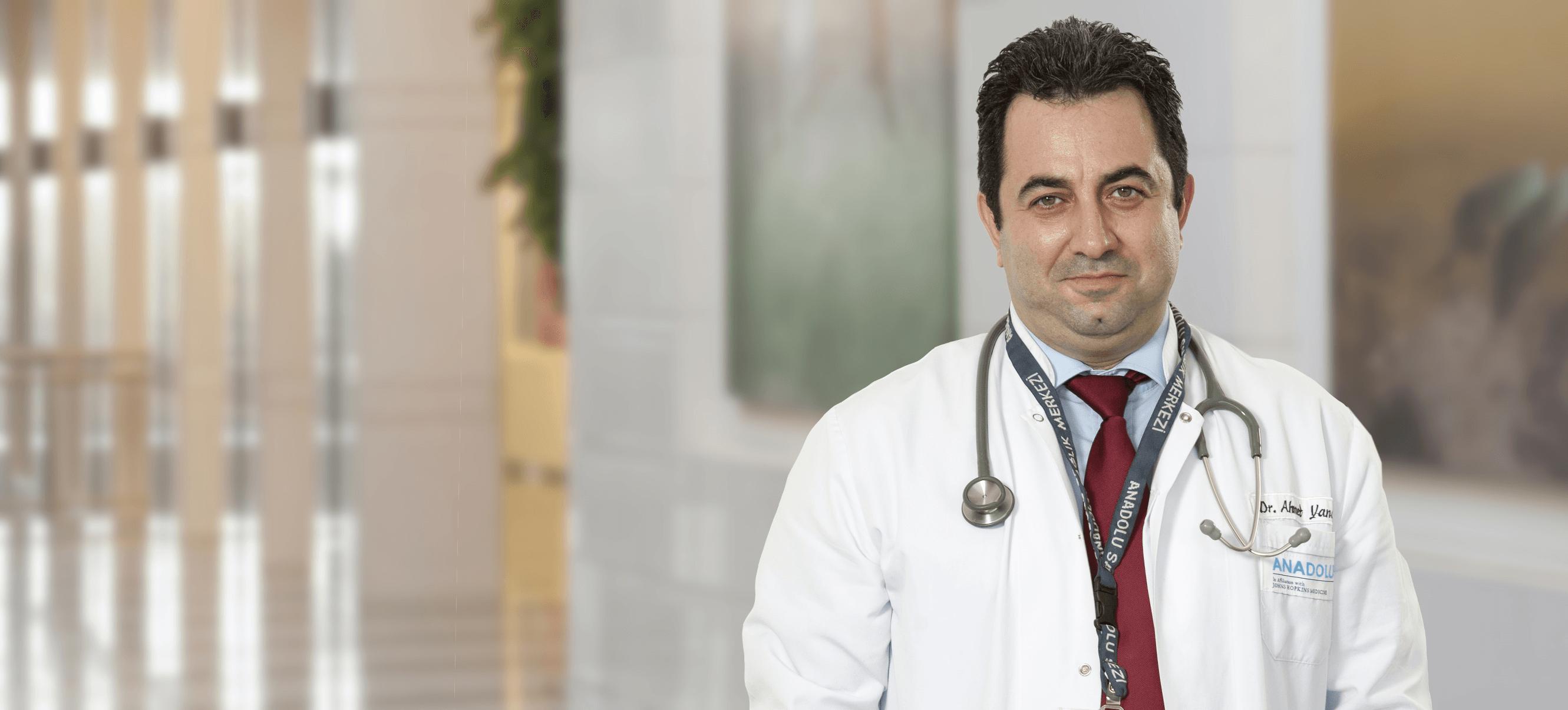 Ахмет Янар — квалифицированная помощь в медицинском центре Anadolu