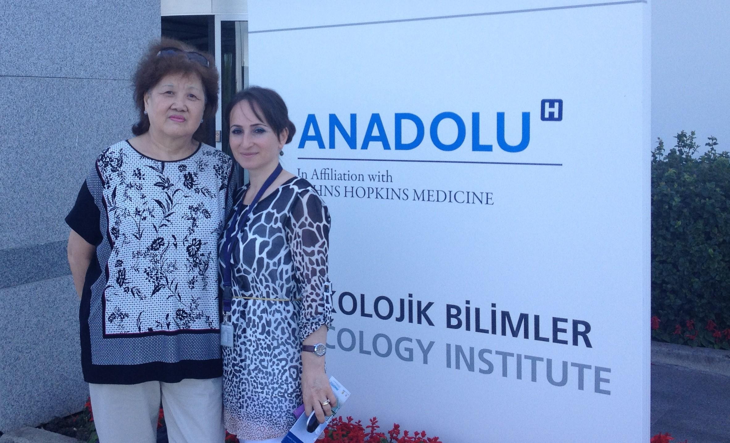 Зоя Ким, Казахстан — лечение в ведущей клинике Турции