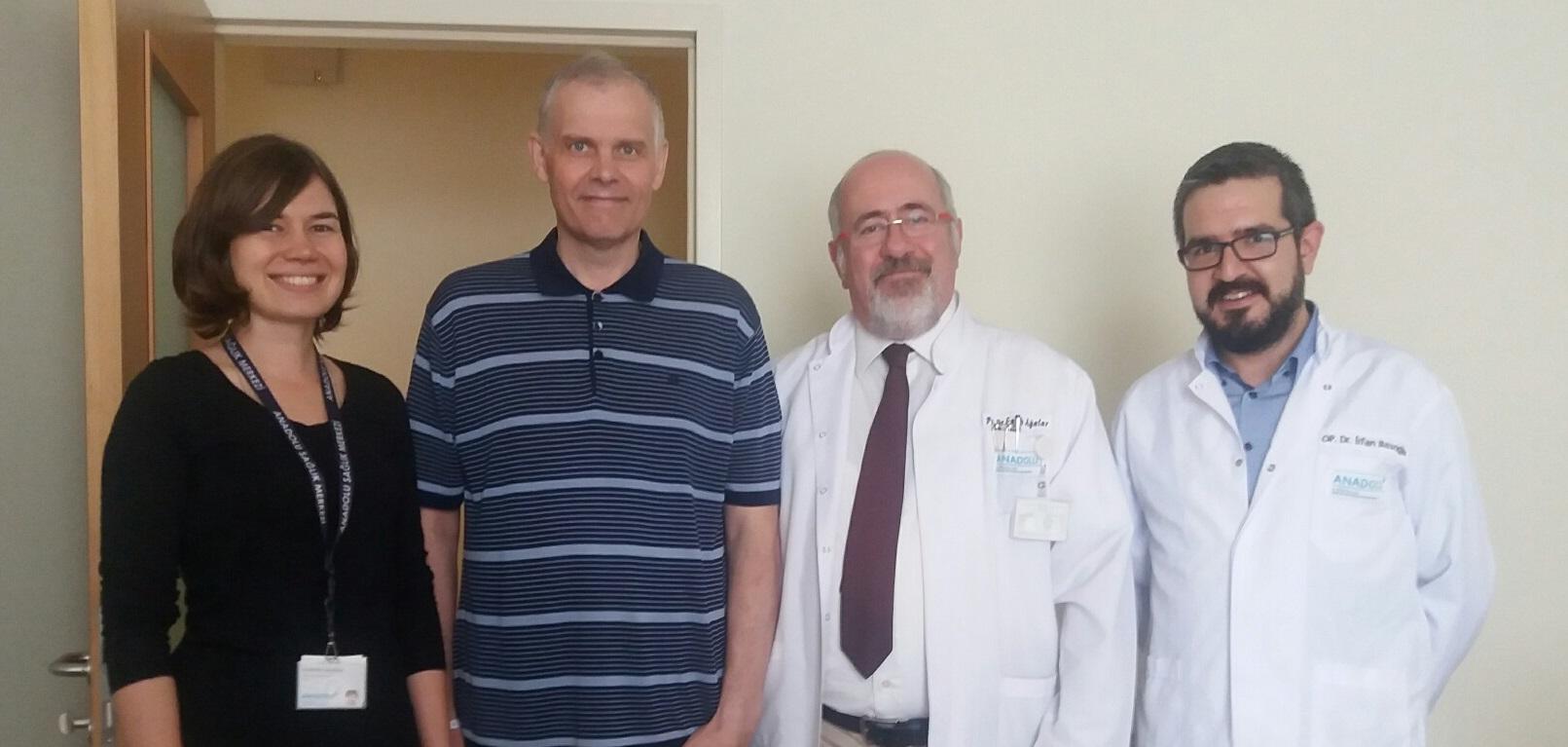 Дмитрий Савиных, Екатеринбург — лечение в ведущей клинике Турции